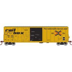 Athearn 20080 N 50' FMC Ex-Post Combo Door Box Railbox/Early #50420