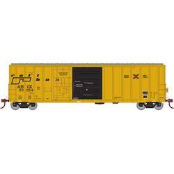 Athearn 20084 N 50' FMC Ex-Post Combo Door Box Railbox/Late #50054