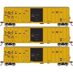 Athearn 20087 N 50' FMC Ex-Post Combo Door Box Railbox/Late(3)