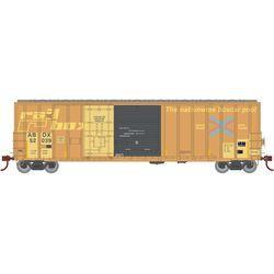 Athearn 20089 N 50' FMC Ex-Post Combo Door Box Railbox #52039