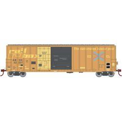 Athearn 20090 N 50' FMC Ex-Post Combo Door Box Railbox #52237