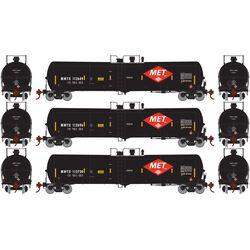 Athearn 29878 HO 30,000 Gallon Ethanol Tank MWTX #1 (3)