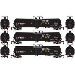 Athearn 29886 HO 30,000 Gallon Ethanol Tank GATX #1 (3)