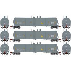 Athearn 29894 HO 30,000 Gallon Ethanol Tank CELX #1 (3)