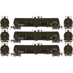 Athearn 29898 HO 30,000 Gallon Ethanol Tank CTCX #1 (3)