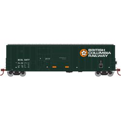 Athearn 71017 HO 50' FMC Ex-Post Combo Door Box British Columbia #5477