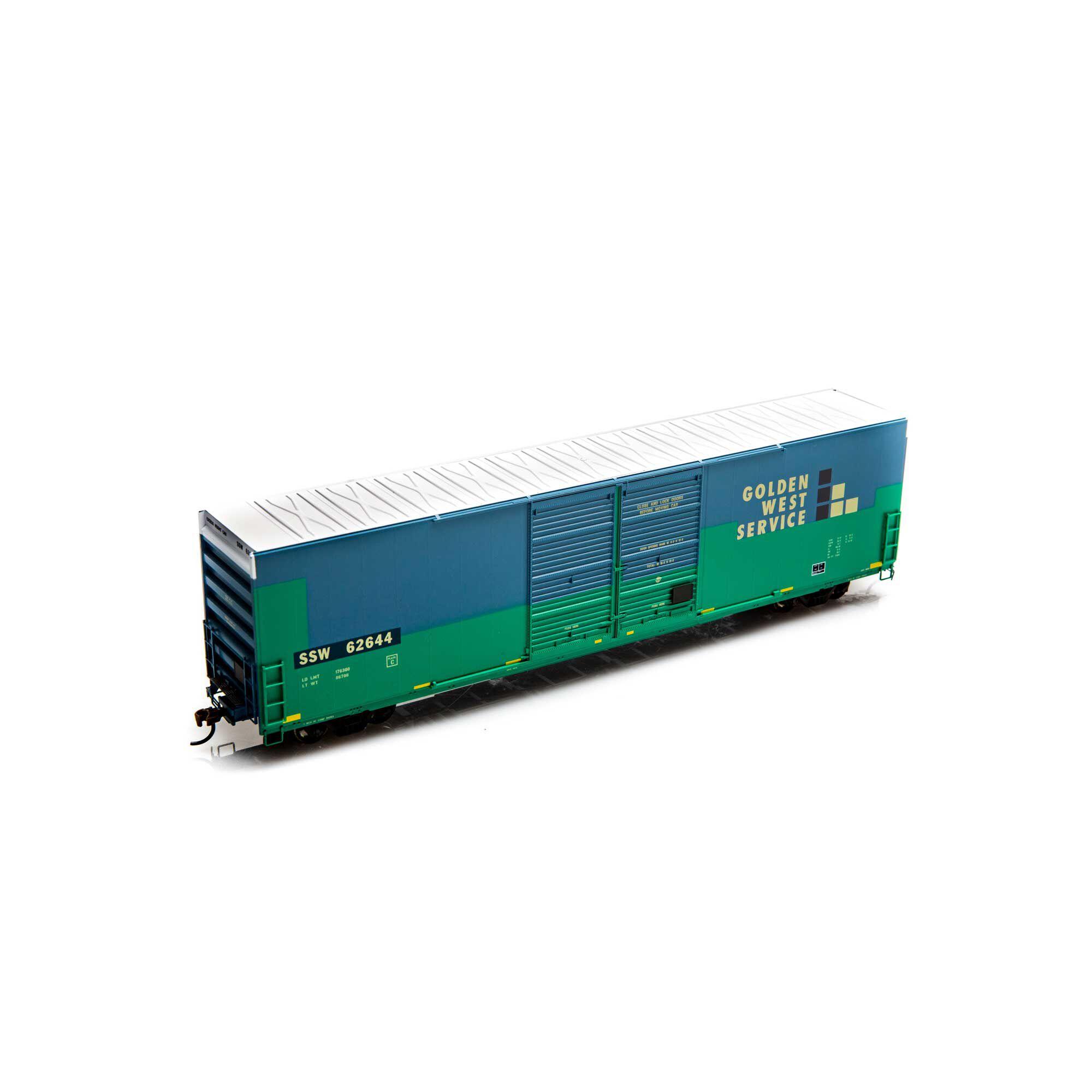Athearn 87178 HO FMC 60' DD Hi-Cube Box, SSW/Ex-GWS #62644