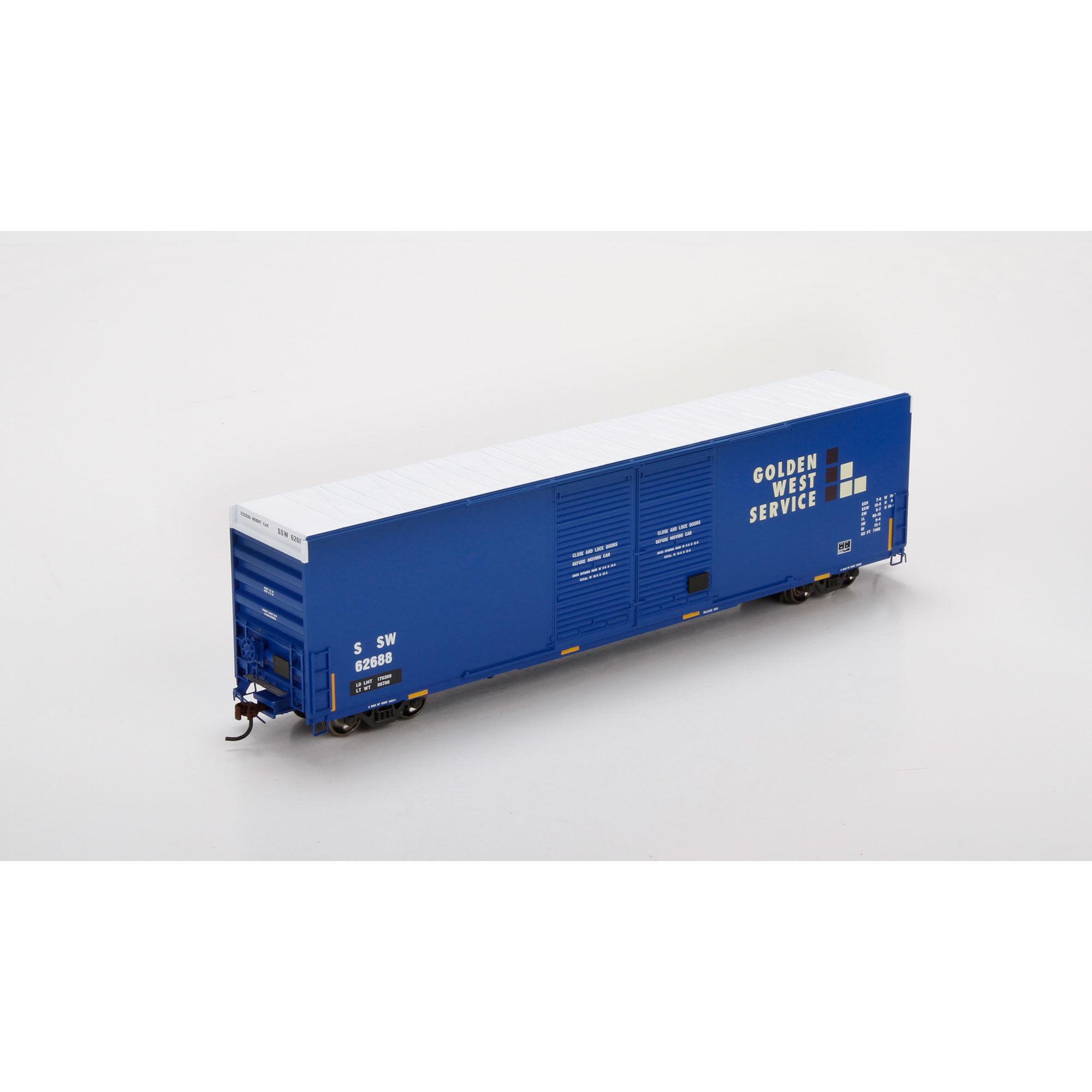 Athearn 87179 HO FMC 60' DD Hi-Cube Box, SSW/Ex-GWS #62688