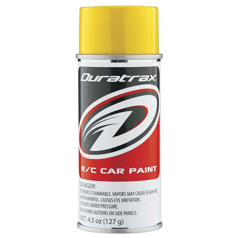 Polycarb Spray, Candy Yellow, 4.5oz