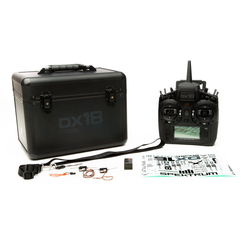 DX18 Stealth Edition 18-CH TX System MD2 with AR9020