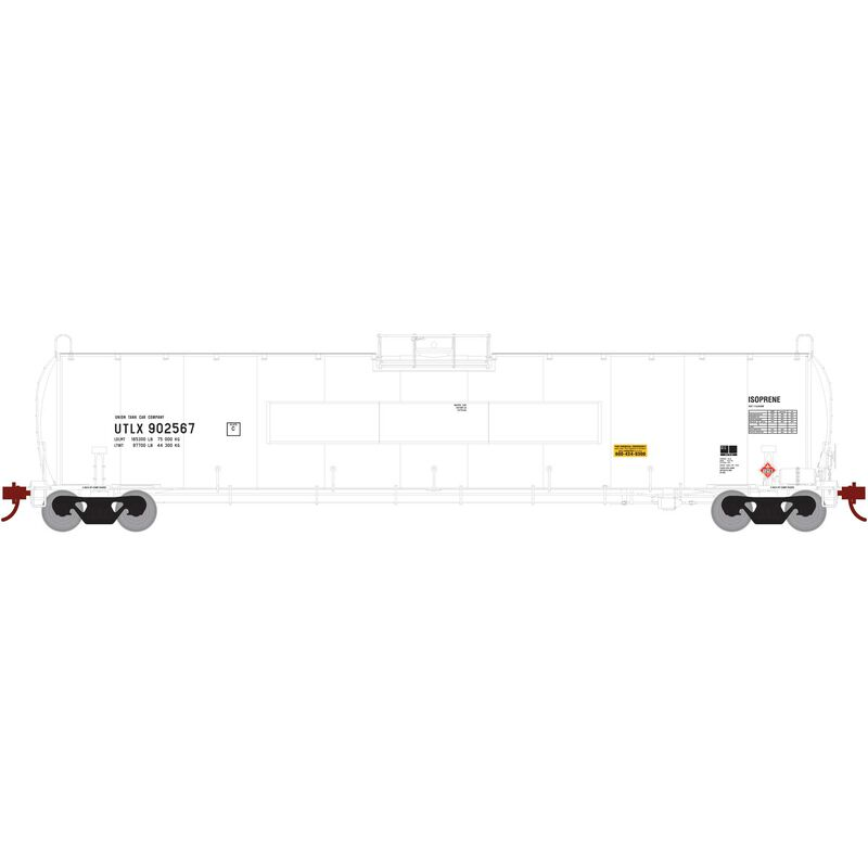 HO 33 900-Gallon LPG Tank Flat UTLX #902567