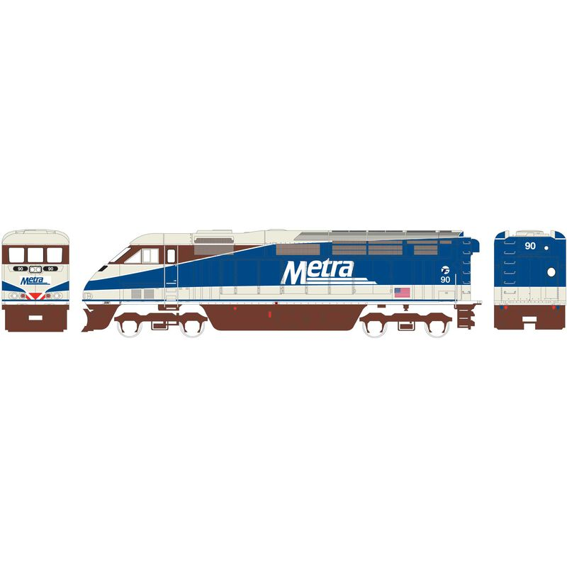 N F59PHI with DCC & Sound METX #90