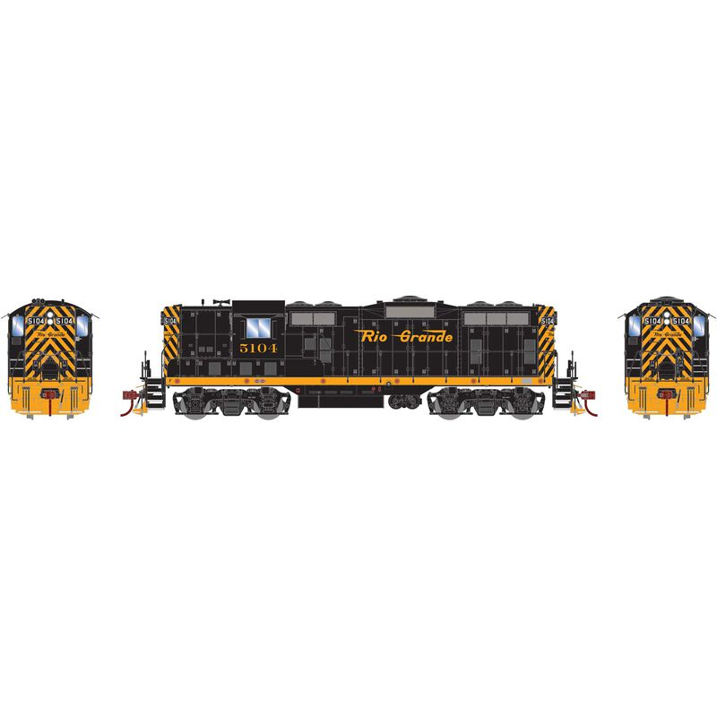 HO GP7 with DCC & Sound D&RGW  #5104
