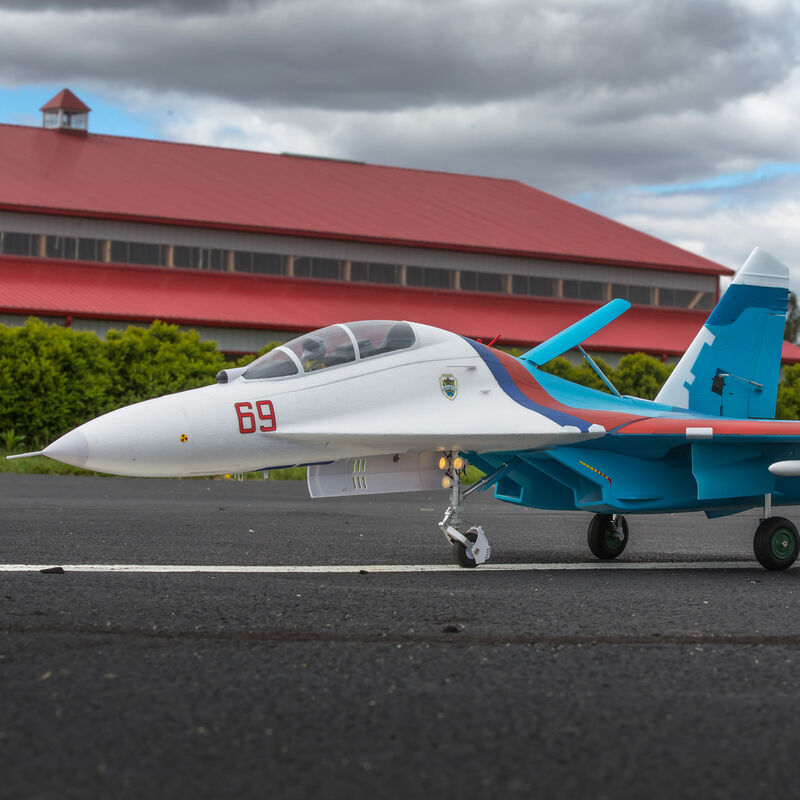 SU-30 Twin 70mm EDF PNP, 1100mm