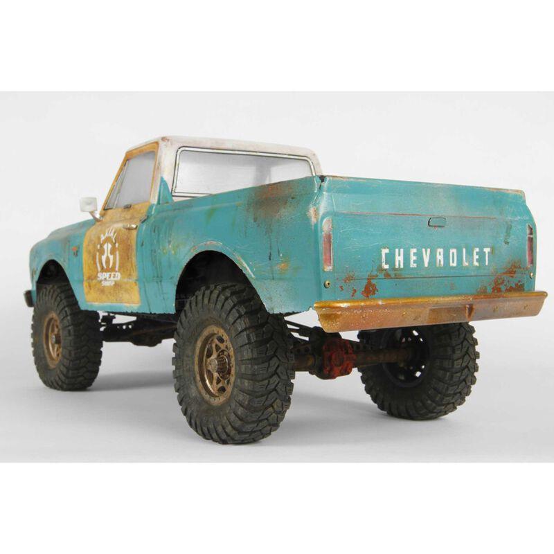 """1967 Chevrolet C10 Body .04"""" Uncut, Clear: SCX10"""