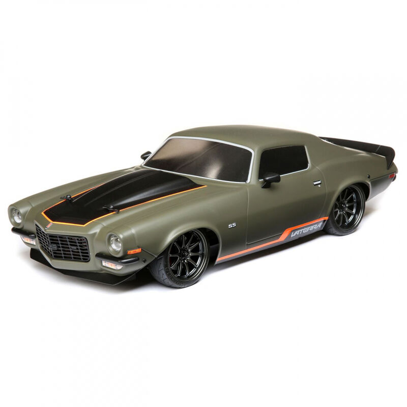 1/10 1972 Chevy Camaro SS V100 4WD Brushed RTR, Green