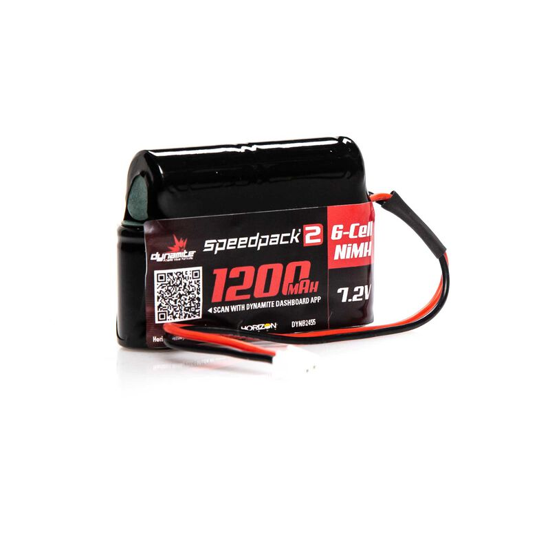 Speedpack2 7.2V 1200mAh 6C NiMH, MINI-S