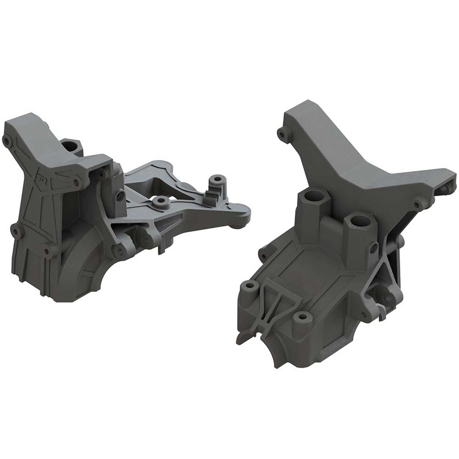 Composite Front Rear Upper Gearbox Covers and Shock Tower