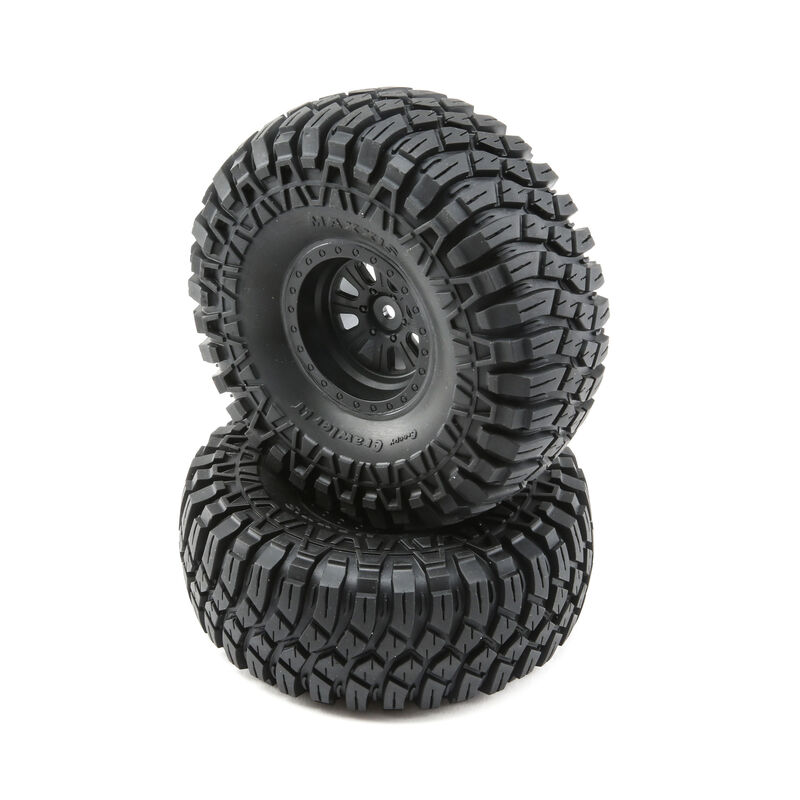 Maxxis Creepy Crawler LT Tires and Wheels Mounted (2)