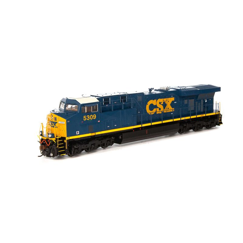 HO ES44DC with DCC & Sound CSX #5309
