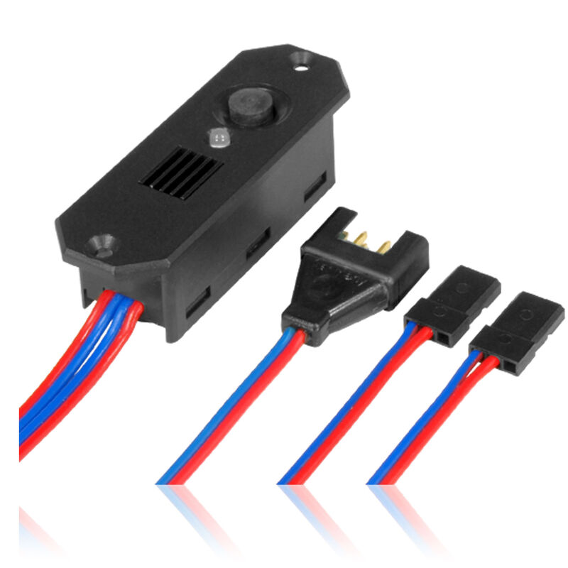 DigiSwitch MPX/2xJR connectors, 7.4V