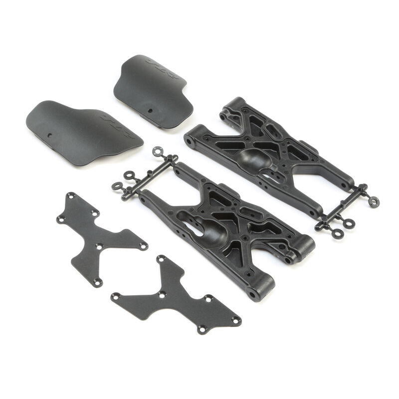 Rear Arms Inserts Guards (2): 8X, 8XE