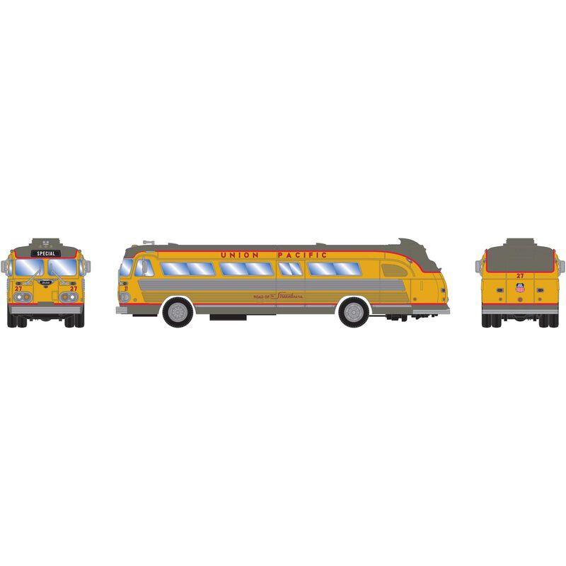 HO RTR Intercity Bus UP Streamliners #27