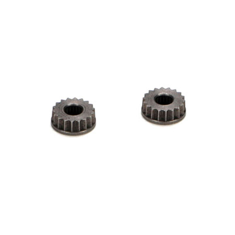 Metal Servo Arm Insert, 24 Spline, Hitec (2): 8X, 8XE