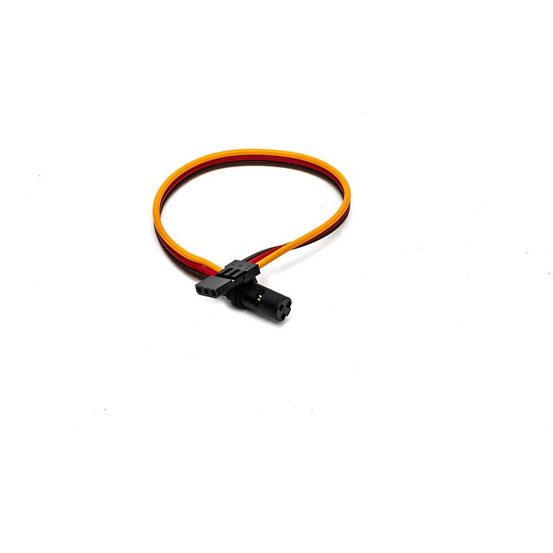 """Locking Cable 18awg, 6"""""""