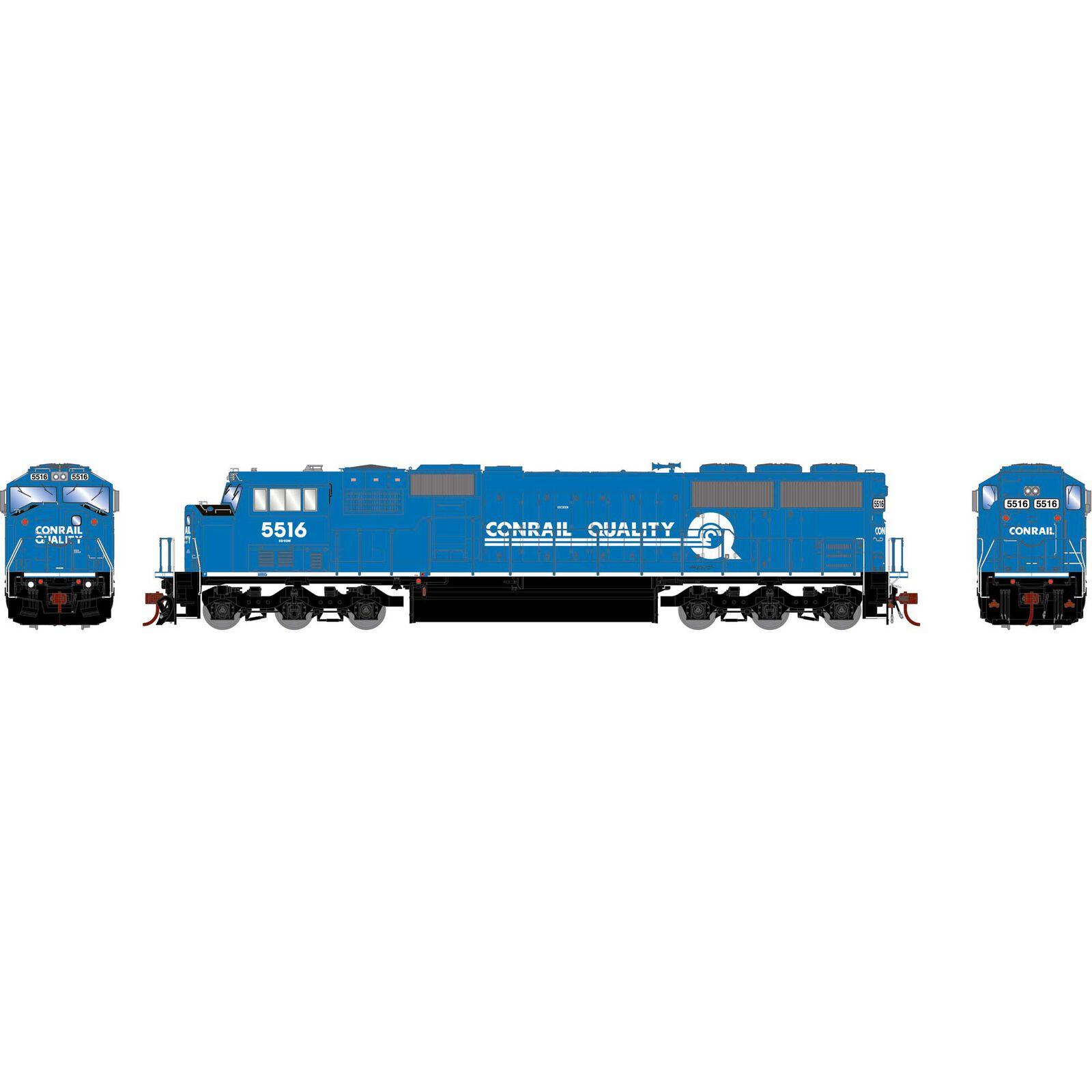 HO SD60M, CR/Blue/White/Quality #5516