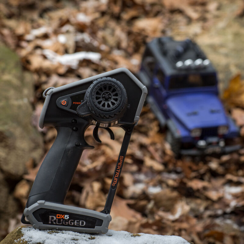 DX5 Rugged 5-Channel DSMR Transmitter with SR6200A