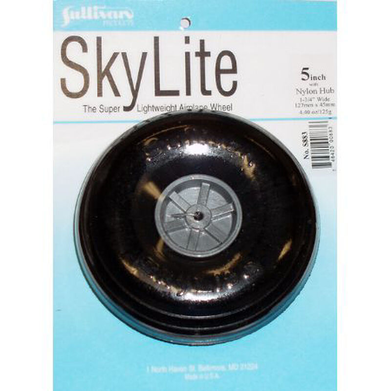 "Skylite Wheel w/Tread 5"" (1 wheel and tire included)"