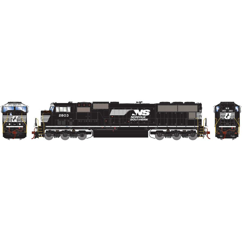 HO SD75M with DCC & Sound NS #2803