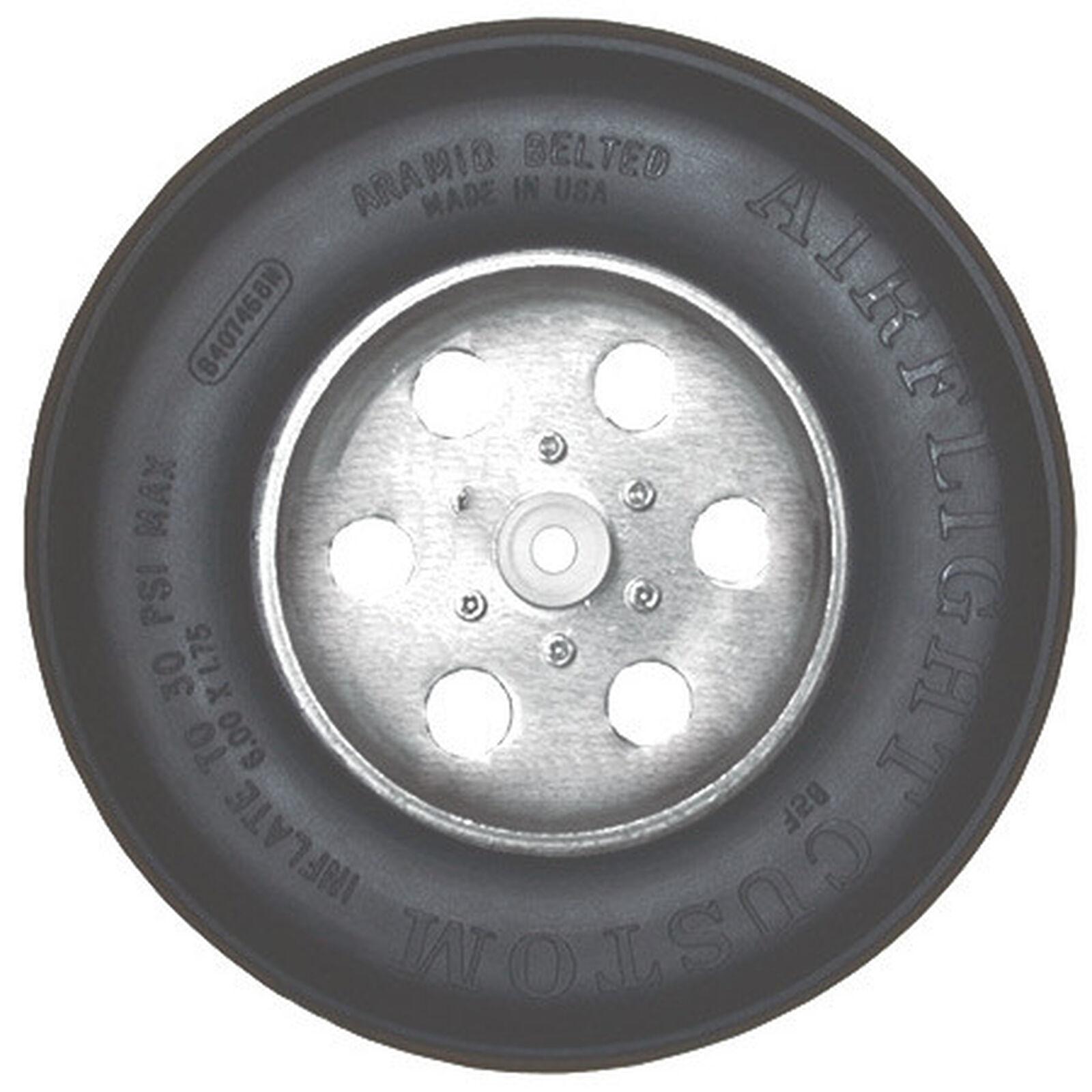 "Sky Airflight Wheel with Treads 6"" x 1-3/4"""