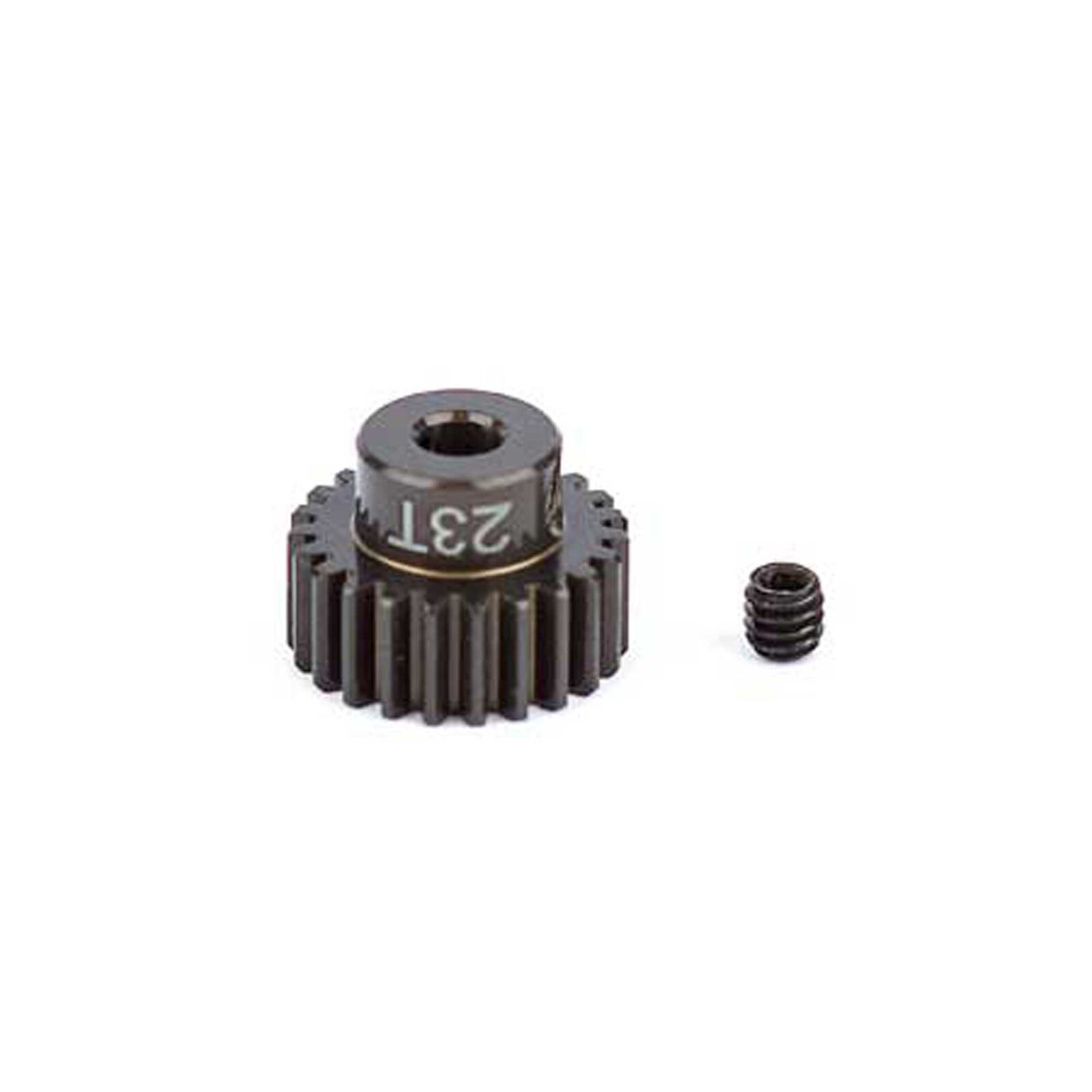 Factory Team Aluminum Pinion Gear, 23T, 48P, 1/8 shaft
