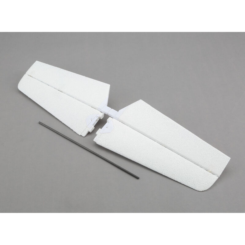 Horizontal Stabilizer with Tube: Timber