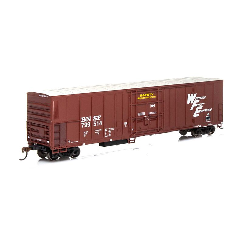 HO RTR 57' PCF Mechanical Reefer BNSF Brown#799514