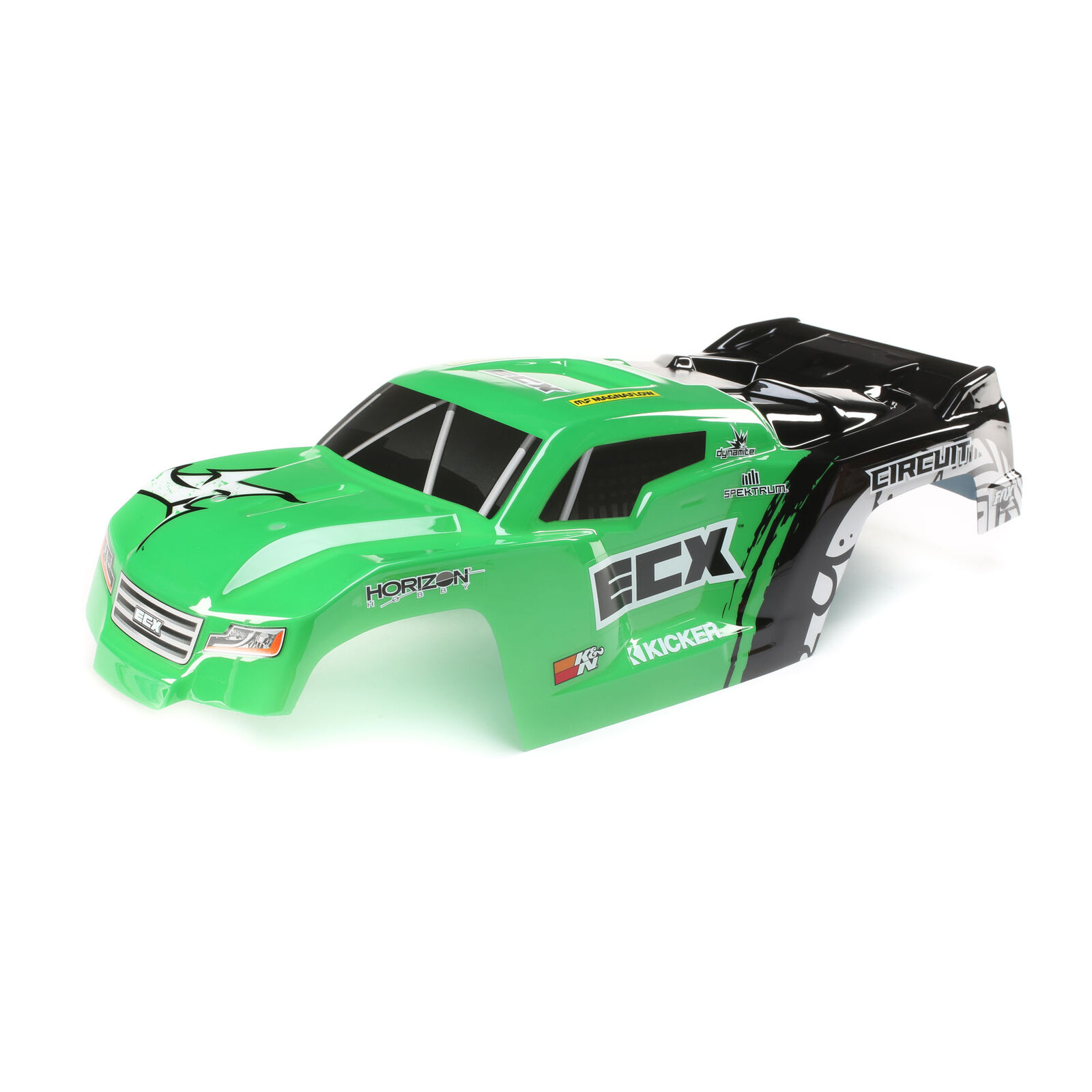 1/10 Painted Body, Green: 2WD Circuit