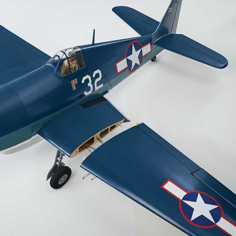 "Giant F6F Hellcat 55-61cc RTC, 86"""