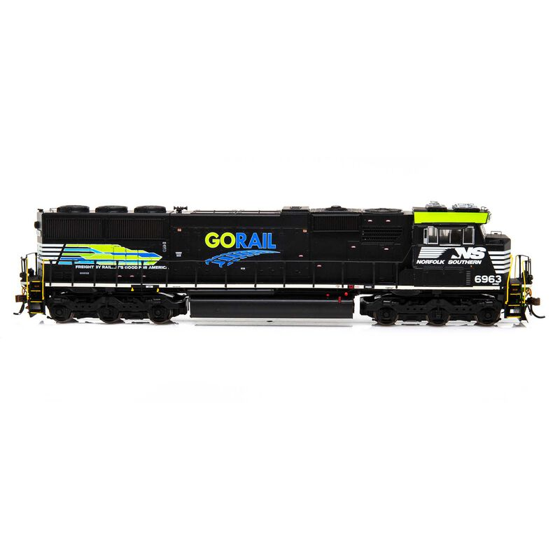 HO SD60E with DCC & Sound NS GoRail #6963