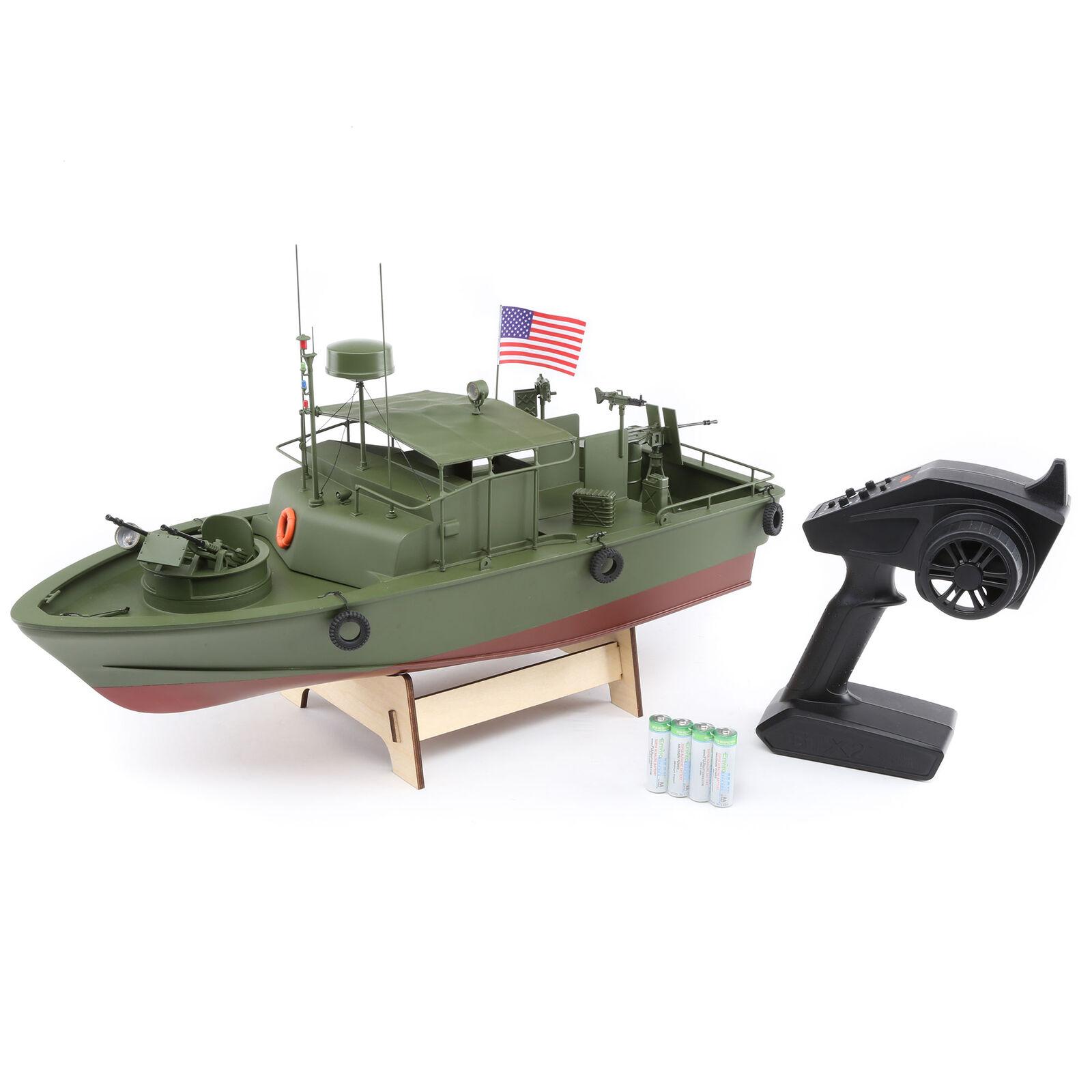 """Alpha Patrol Boat 21"""" Brushed RTR"""