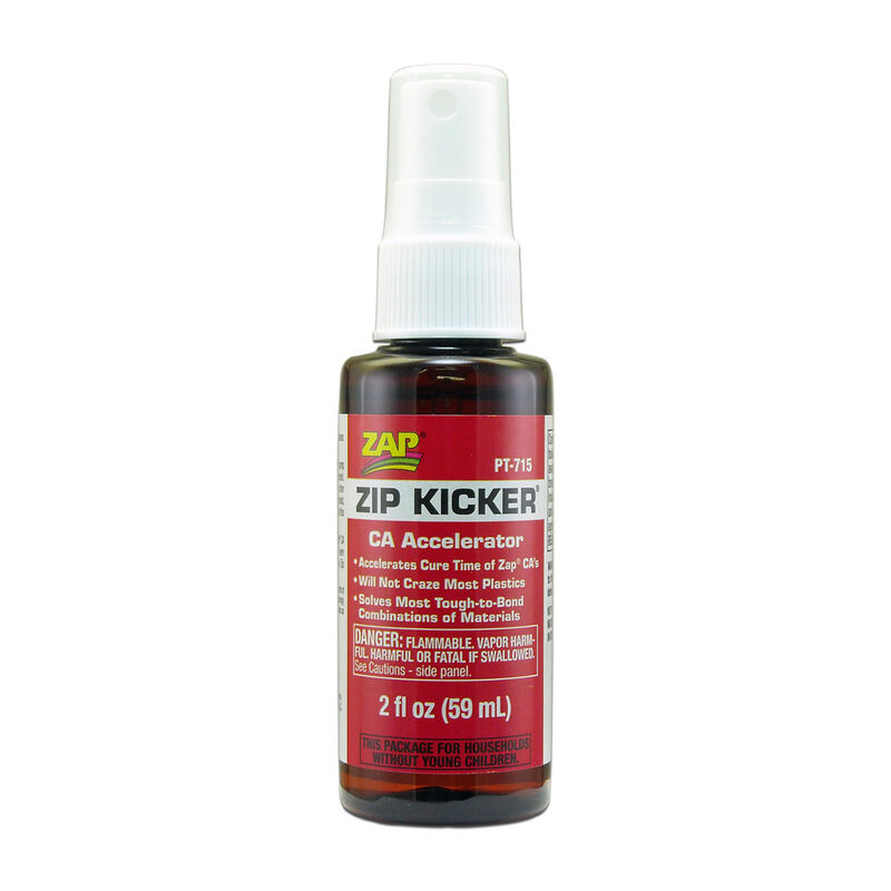 Zip-Kicker Spray CA Accelerator, 2 oz