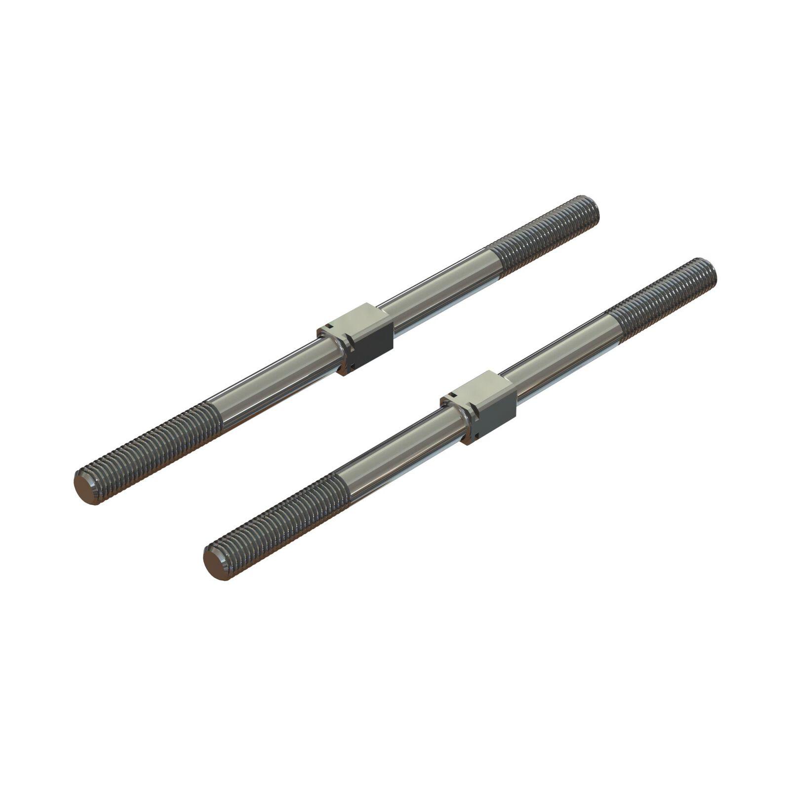Steel Turnbuckle M7x130mm Silver (2)