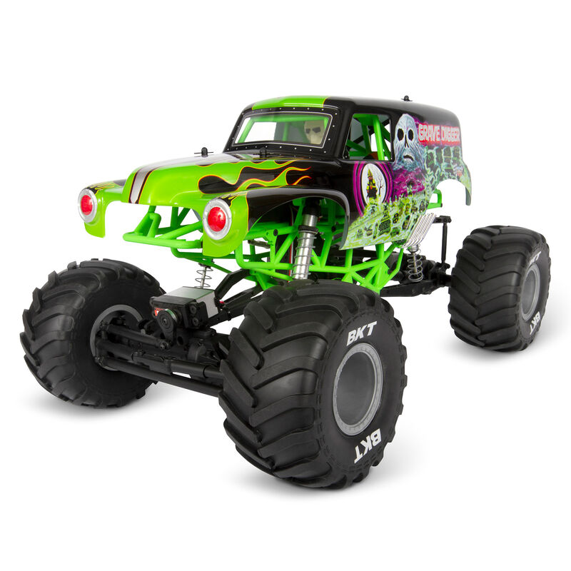 1/10 SMT10 Grave Digger 4WD Monster Truck Brushed RTR