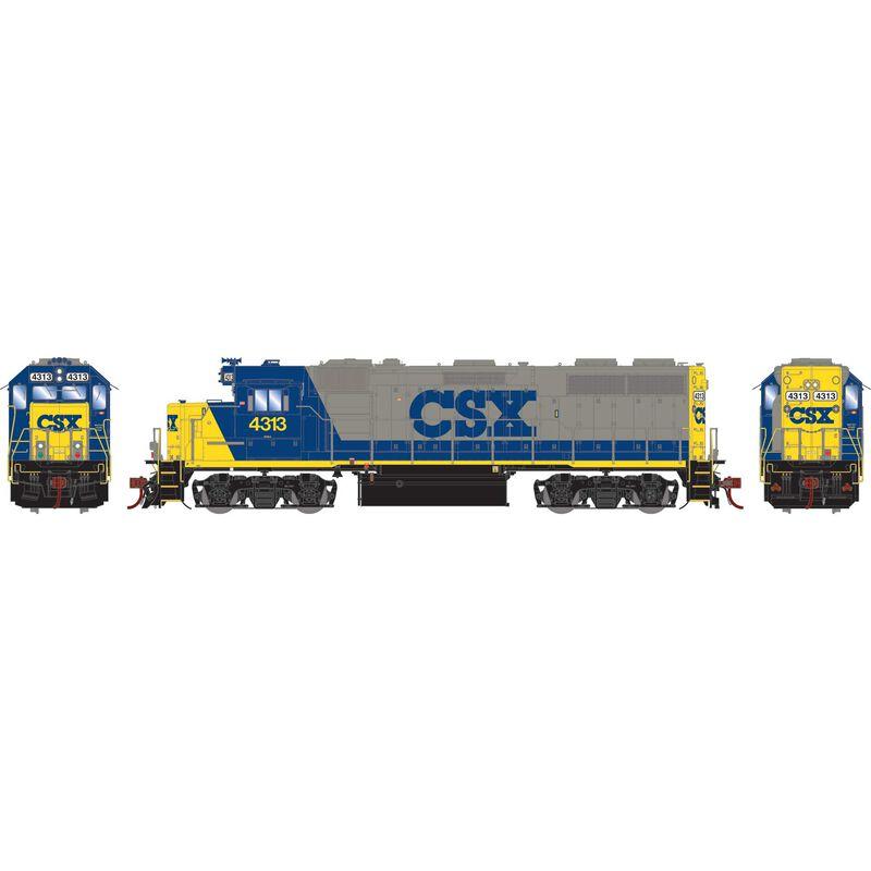 HO GP39-2 with DCC & Sound CSX #4313