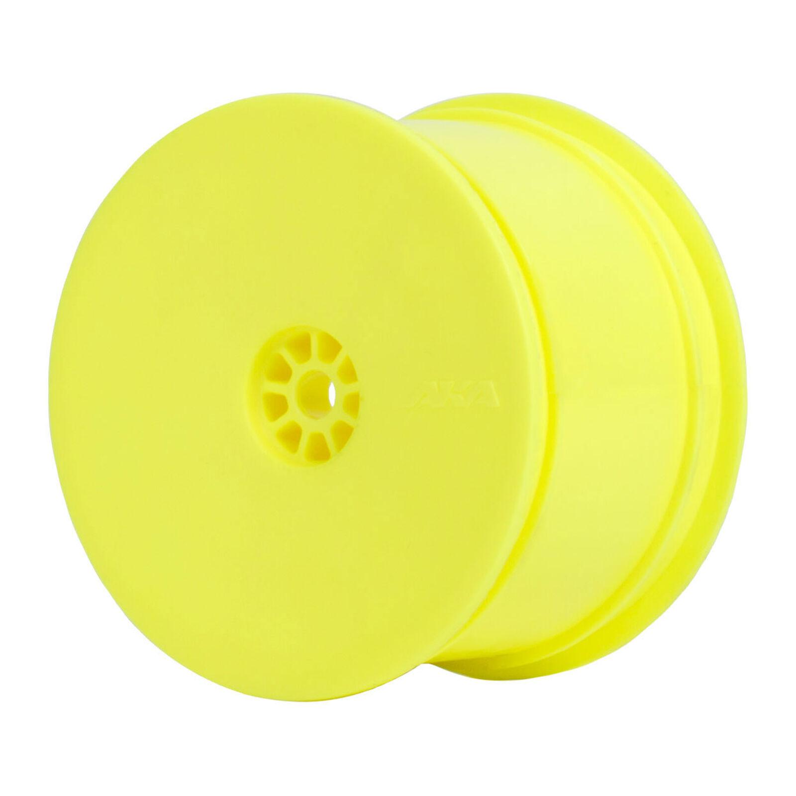 1/10 HEXlite Rear Wheel, Yellow: Buggy (2)