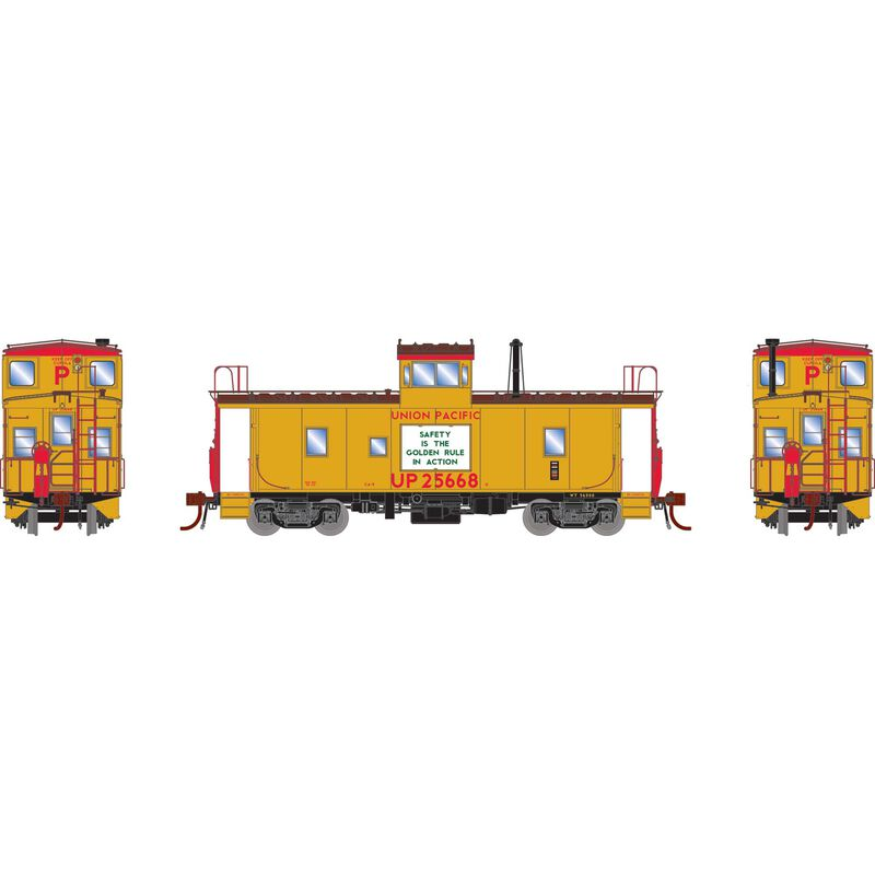 HO CA-9 ICC Caboose with Lights UP #25668