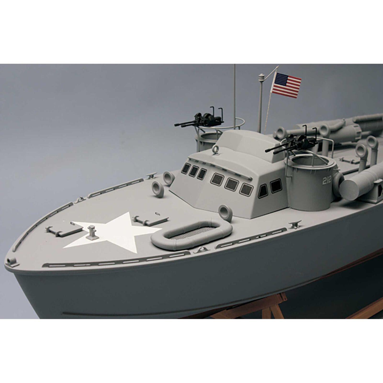 "1/30 1978 PT-212 Higgins Patrol Torpedo Boat Kit, 30.5"""