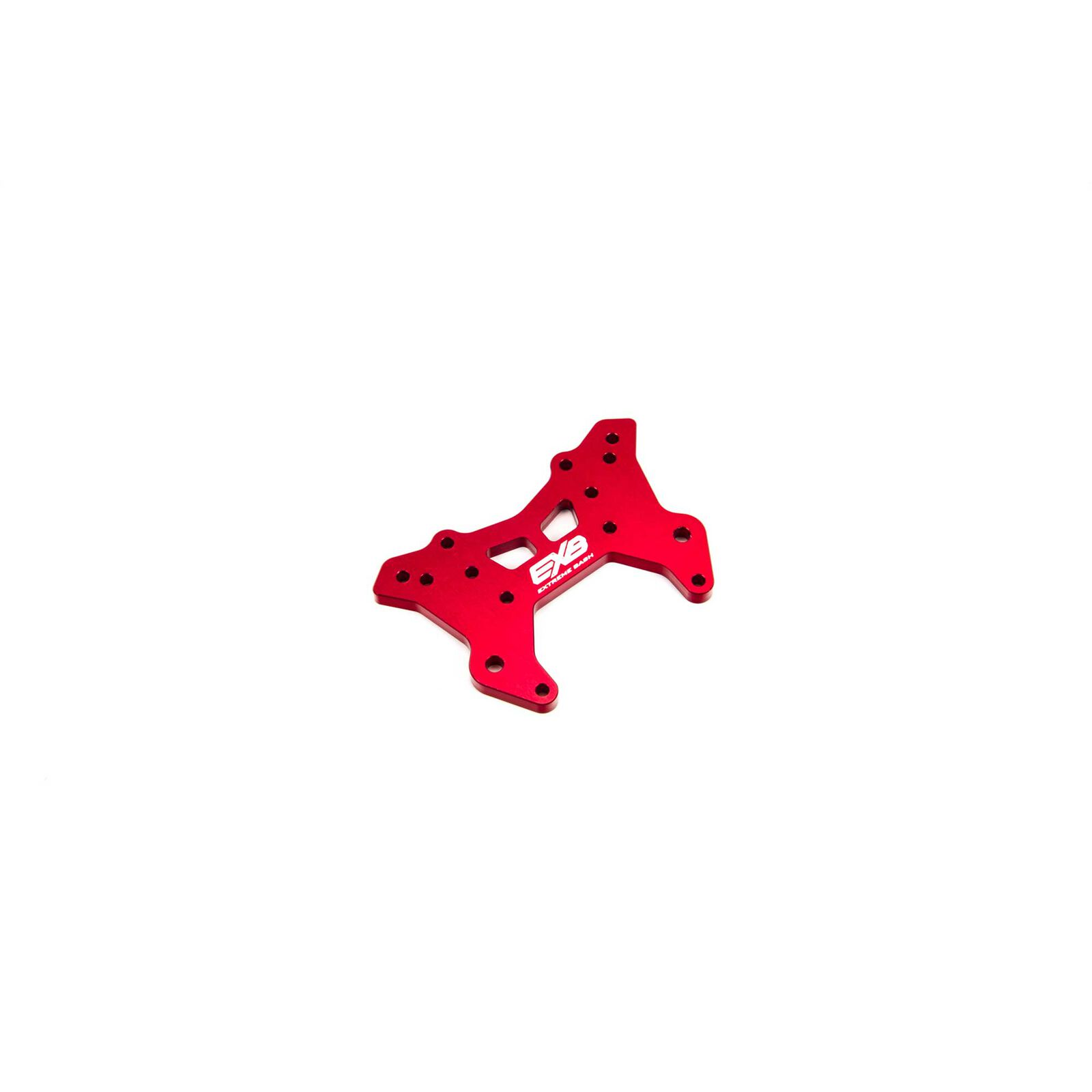 Front Aluminum Shock Tower CNC 7075 T6 RS, Red: EXB