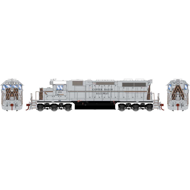 HO RTR SD39 with DCC & Sound, CBRY #303
